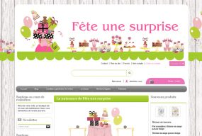 Création de sites internet Prestashop